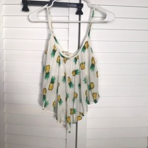 Pineapple blouse size small